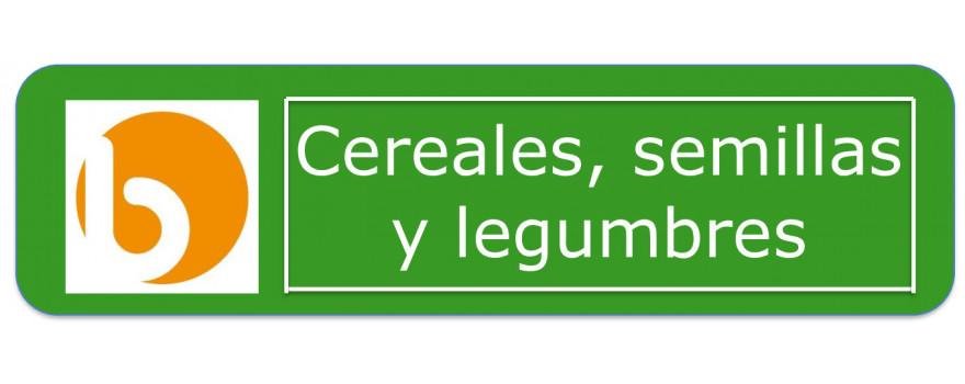 Cereales, legumbres y semillas
