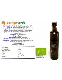 Aceite de oliva arbequina...