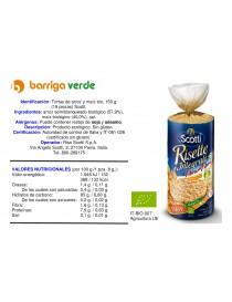 Tortas de arroz y maíz