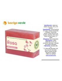 Jabón de pétalos de rosa