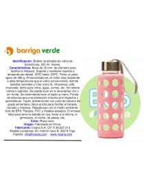 Botella reutilizable vidrio...