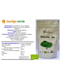 Chlorella bio en polvo