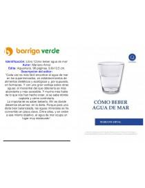"""Libro 'Cómo beber agua de mar"""""""