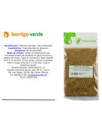 Alholva semillas