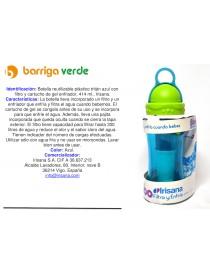 Botella reutilizable con...