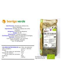 Semillas de calabaza 500 g.