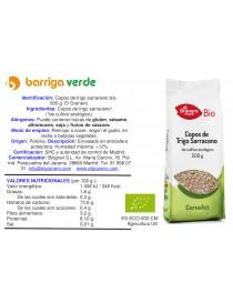 Copos de trigo sarrceno
