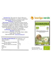 Manzanilla infusión