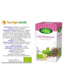 Valeriana + infusión