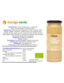Crema de legumbres y shitake