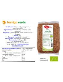 Fideos de trigo integral