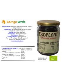 Aceitunas enteras negras