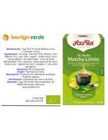 Yogi Tea Té Verde Matcha