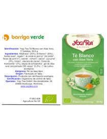 Yogi Tea Té Blanco con Aloe...