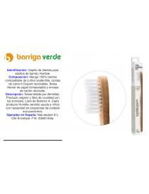 Cepillo dental reciclable...