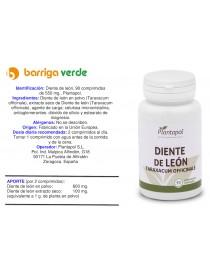 Diente de león comprimidos