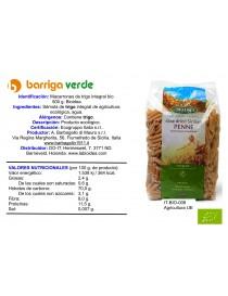 Macarrones de trigo integral
