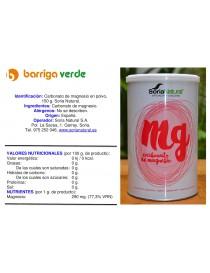 Carbonato de magnesio en polvo