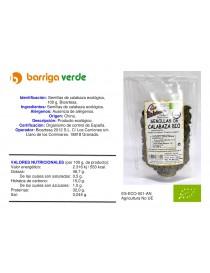 Semillas de calabaza 100 g.