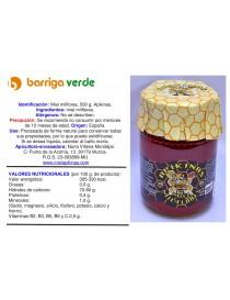 Miel milflores 500 g.