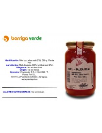 Miel con jalea real (2%)