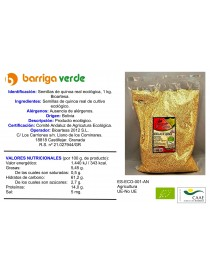 Semillas de quinoa real 1 kg.