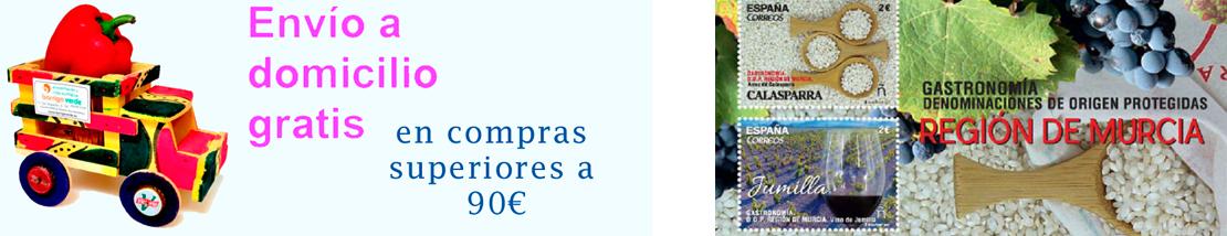 Envios y ofertas de productos Murcianos